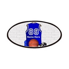 Personalized Basketball Jerse Patches
