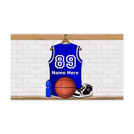 Personalized Basketball Jerse 38.5 x 24.5 Wall Pee