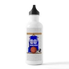 Personalized Basketball Jerse Sports Water Bottle