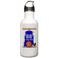 Personalized Basketball Jerse Water Bottle