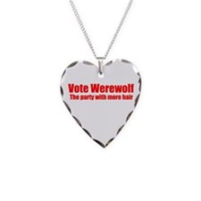 Vote Werewolf Necklace