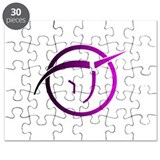 Invisible Pink Unicorn Puzzle