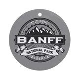 Banff Natl Park Ansel Adams Ornament (Round)
