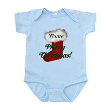 Christmas Stocking Infant Bodysuit