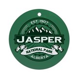 Jasper Forest Ornament (Round)