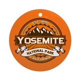 Yosemite Pumpkin Ornament (Round)