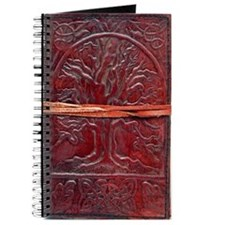 Vintage, Leather Tree Journal