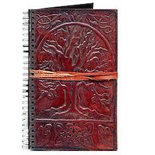 Vintage, Leather Tree Journal