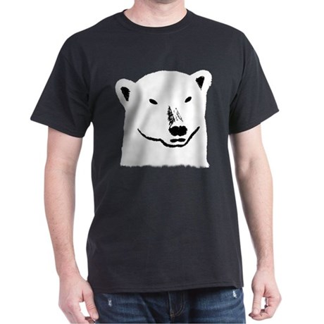 Andy the polar bear plain black
