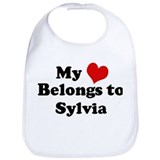 My Heart: Sylvia Bib