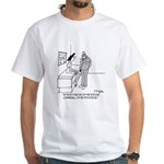 The Fifth Doctor White T-Shirt