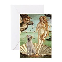 Venus - Yellow Lab #7 Greeting Card