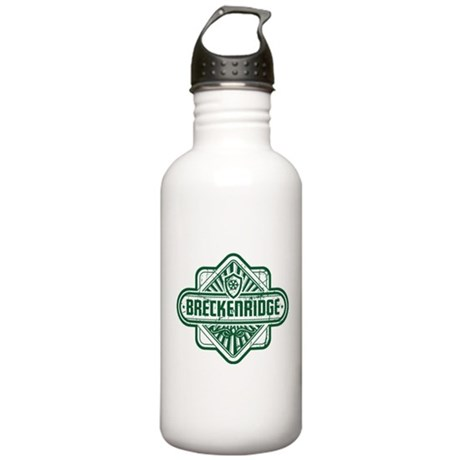 Breckenridge Vintage Square Stainless Water Bottle