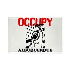 Occupy Albuquerque Rectangle Magnet