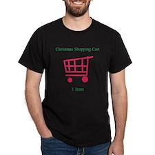 Christmas Shopping Cart Appar T-Shirt