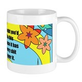 Flowery Shit Small Mug