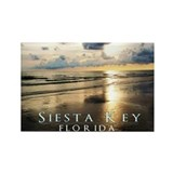 Cute Siesta key beach Rectangle Magnet (100 pack)