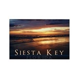 Reflections Siesta Key Rectangle Magnet
