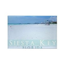 Siesta Key Beach Rectangle Magnet