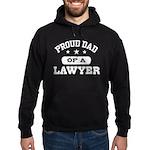 Proud Dad of a Lawyer Hoodie (dark)
