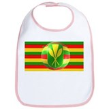 Old Hawaiian Flag Design Bib