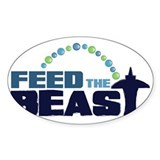 Feed The BEAST: Clear Decal