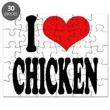 I Love Chicken Puzzle