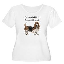 I Sleep With A Basset Hound T-Shirt