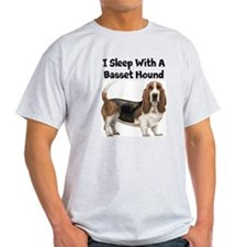 I Sleep With A Basset Hound T-Shirt