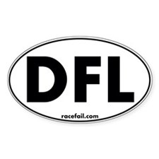 DFL Oval Sticker 3x5