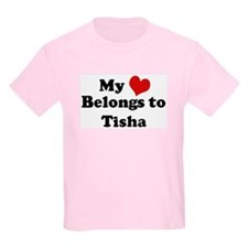 My Heart: Tisha Kids T-Shirt