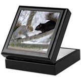 Black Squirrel Keepsake Box