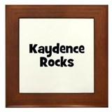 Kaydence Rocks Framed Tile