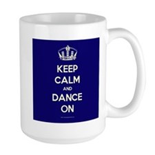 Cute Navy blue Mug
