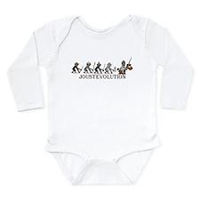 JoustEvolution Monkeys Long Sleeve Infant Bodysuit
