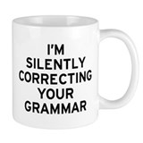 I'm Correcting Coffee Mug
