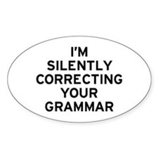 I'm Grammar Decal