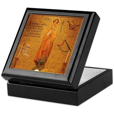 St Cecilia Keepsake Box