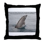 Trust the Vibe Throw Pillow