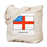 Episcopal Church Flag Tote Bag