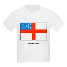 Episcopal Church Flag (Front) Kids T-Shirt