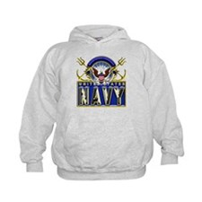 USN Eagle Anchors Honor Hoodie