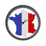 """Pixel France"" Wall Clock"