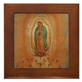 Our Lady of Guadalupe Framed Tile