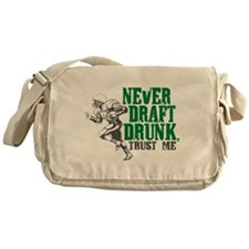 Fantasy Football Draft Drunk Messenger Bag