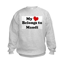 My Heart: Mandi Sweatshirt