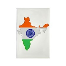 """""""Pixel India"""" Rectangle Magnet (100 pack)"""