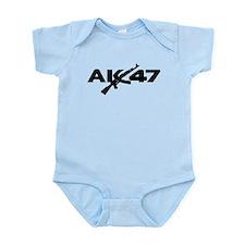 AK 47 Infant Bodysuit
