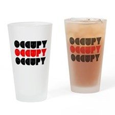 OCCUPY Drinking Glass