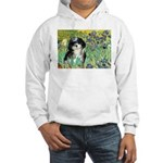 Irises / Shih Tzu #12 Hooded Sweatshirt